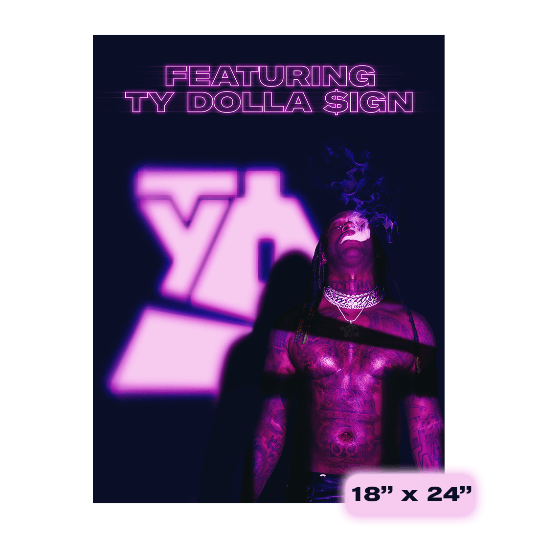 Featuring Ty Dolla $ign Poster